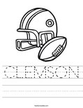 CLEMSON Worksheet