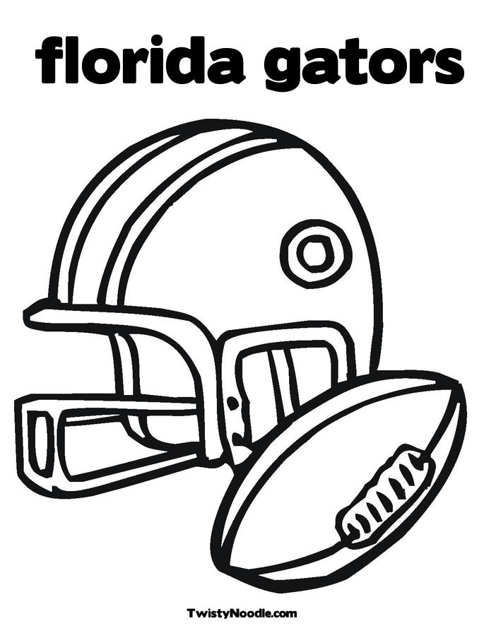 florida gators printable coloring pages - photo#5