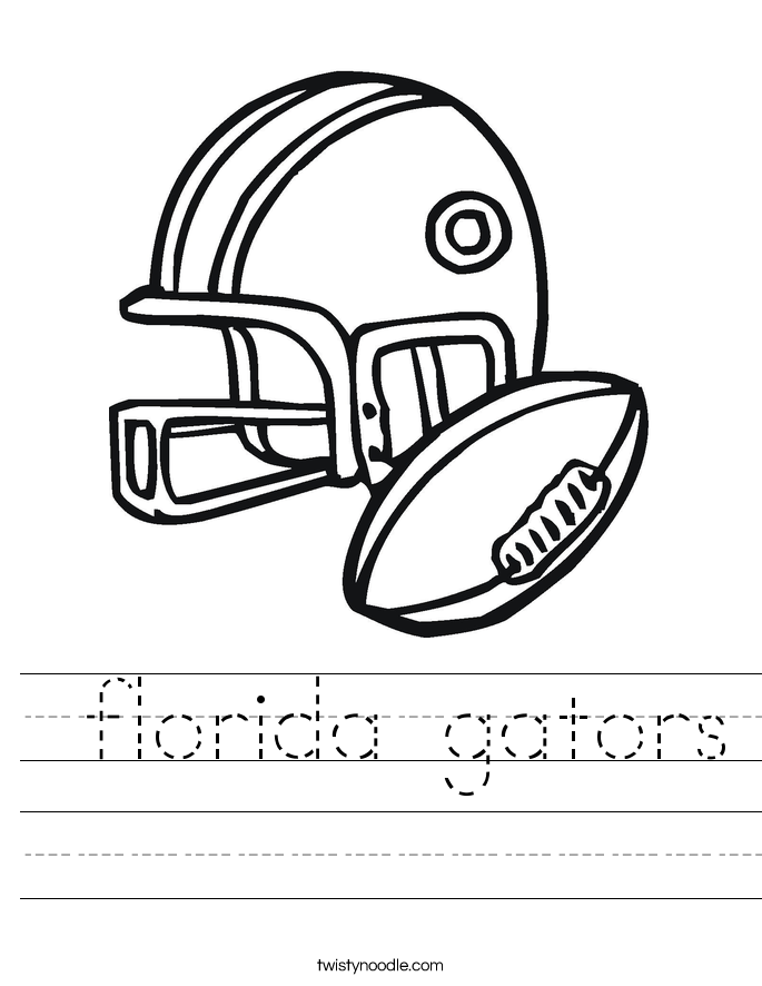florida gators Worksheet