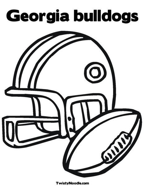 georgia bulldogs coloring pages - university of georgia bulldog coloring coloring pages