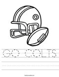 GO COLTS Worksheet
