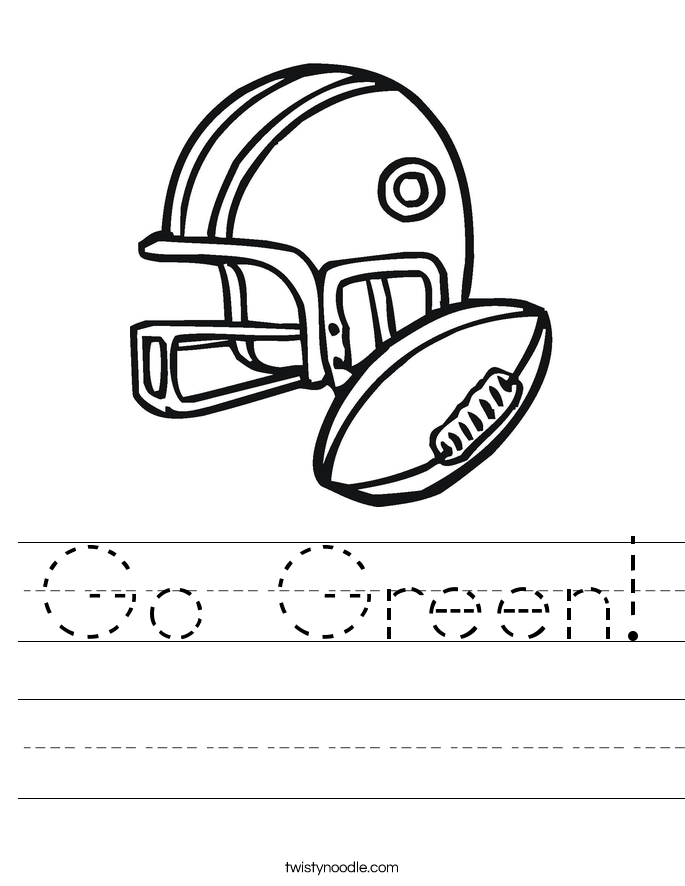 Go Green! Worksheet