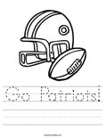 Go Patriots! Worksheet
