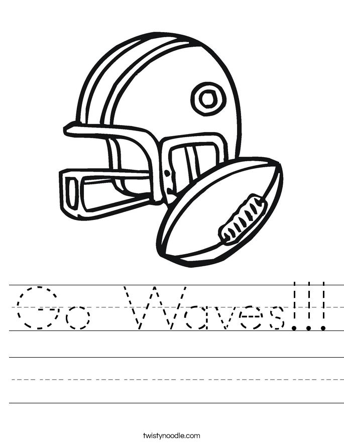 Go Waves!!! Worksheet