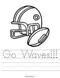 Go Waves!!! Worksheet