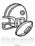 My fav. team is Crimson Tide Worksheet
