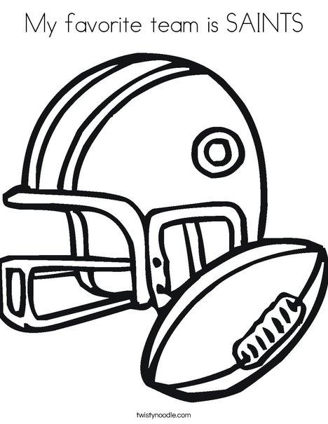 Saints helmet coloring pages coloring pages for New orleans saints color pages