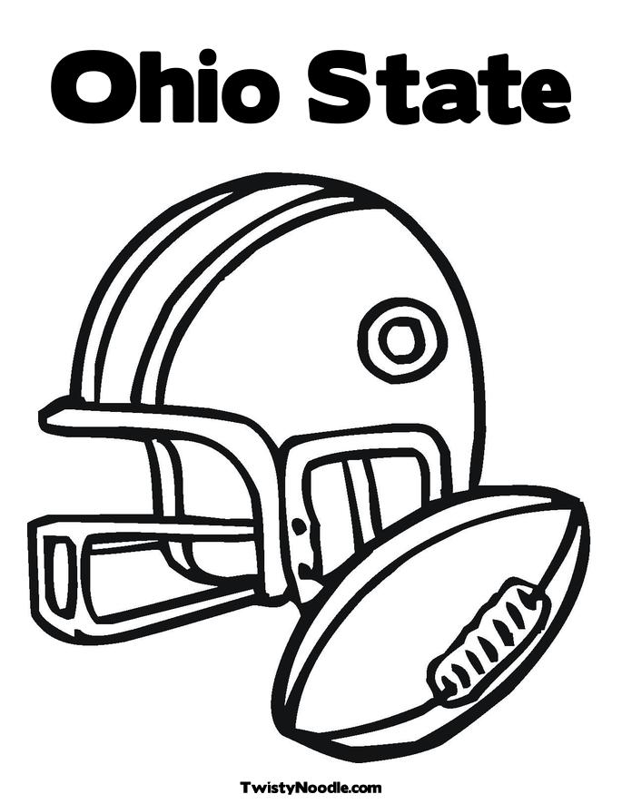 ohio state symbols coloring pages - photo#21