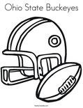 Ohio State BuckeyesColoring Page