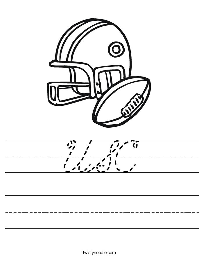 USC Worksheet