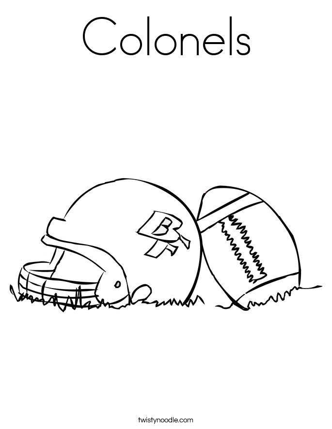 Colonels Coloring Page