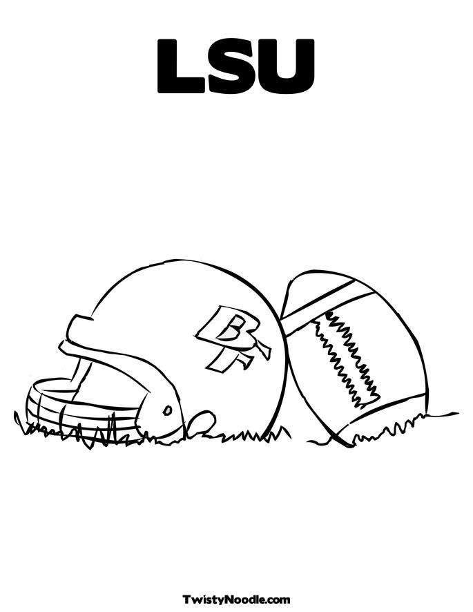 lsu coloring pages - lsu s free colouring pages