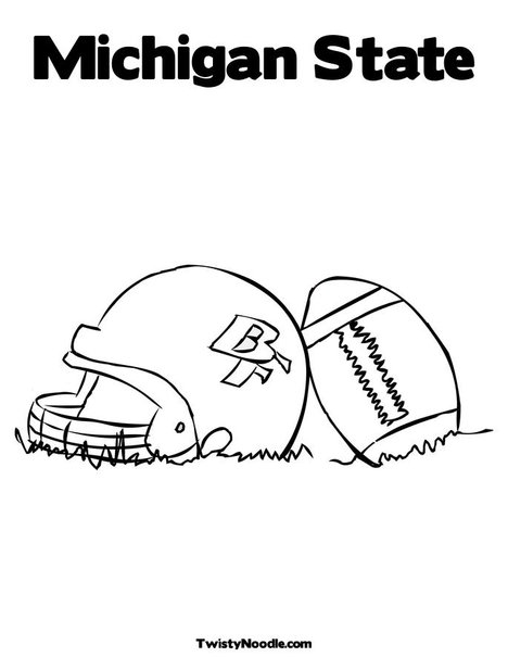 Michigan State Flag Coloring Page Coloring Pages Michigan State Flag Coloring Page