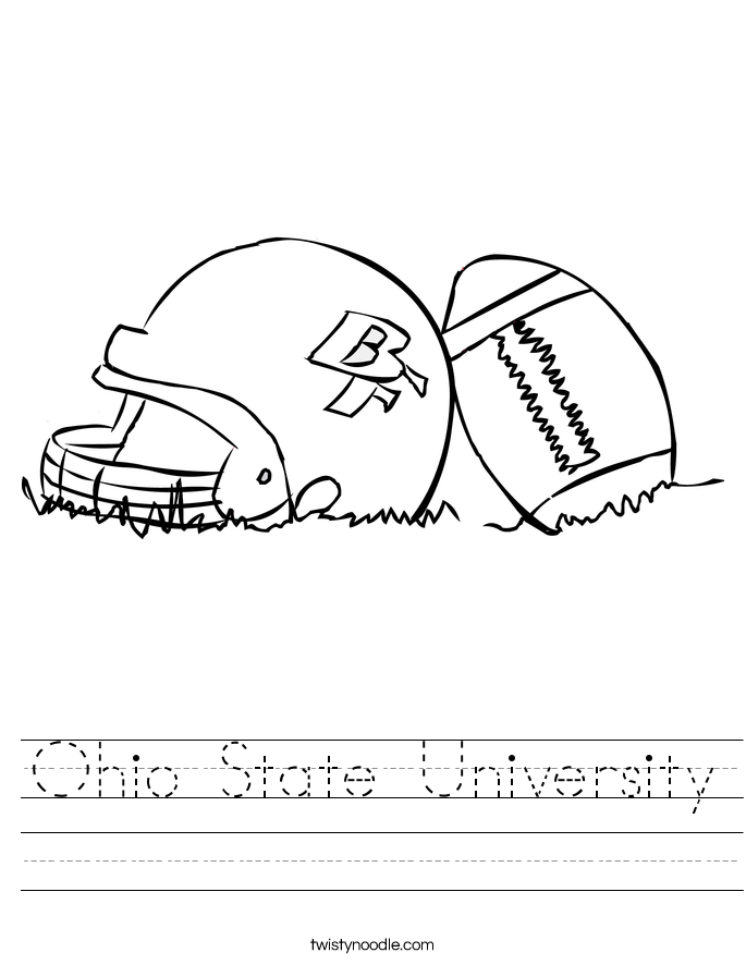 Ohio State University Worksheet