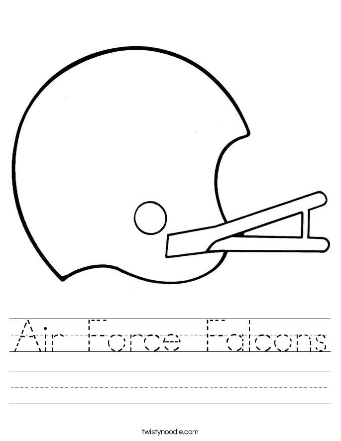 Air Force Falcons Worksheet
