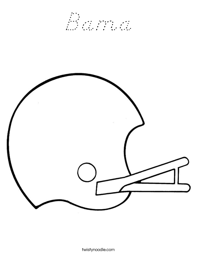 Bama Coloring Page