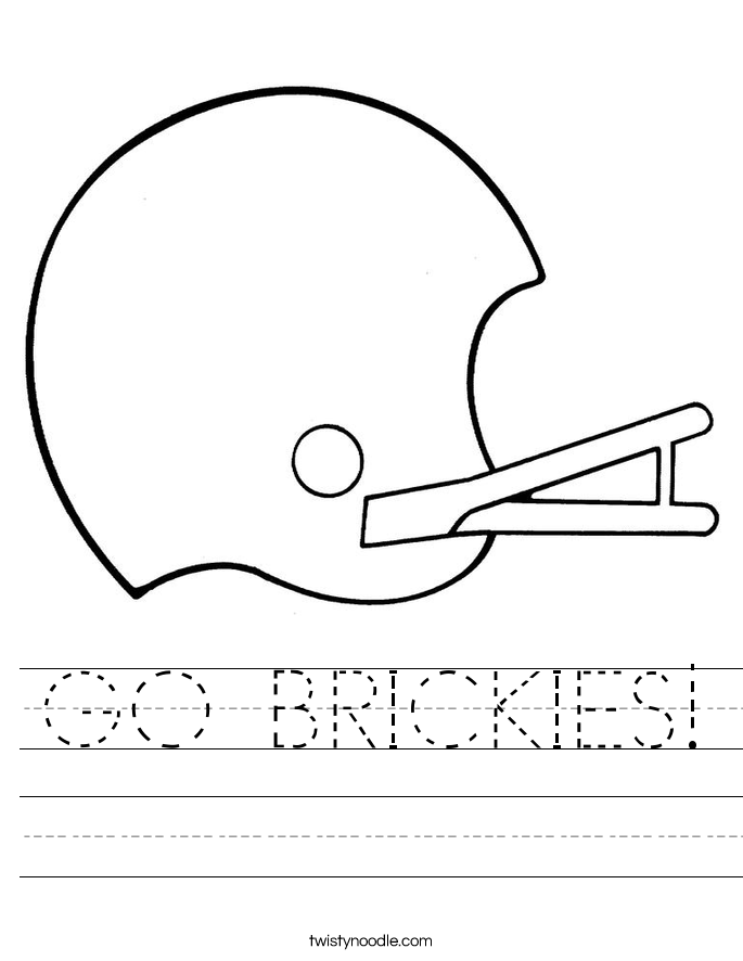 GO BRICKIES! Worksheet