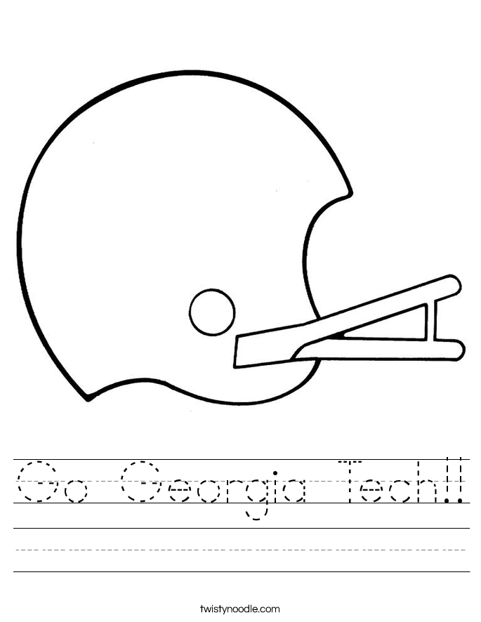 Go Georgia Tech!! Worksheet