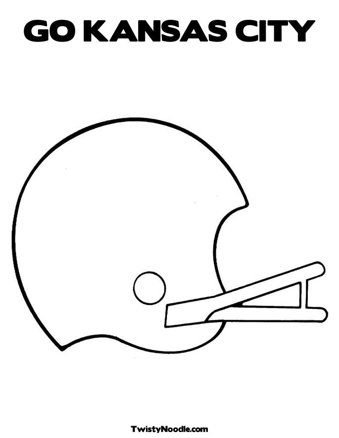 chiefs coloring pages - photo#9