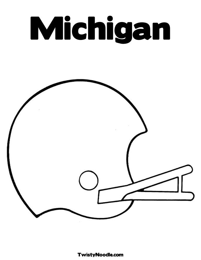 coloring pages of michigan - photo#22