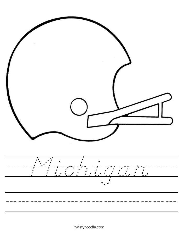 Michigan Worksheet