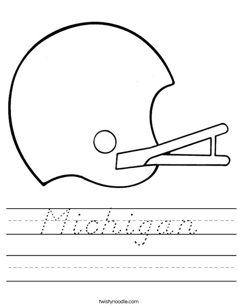 Helmet Worksheet