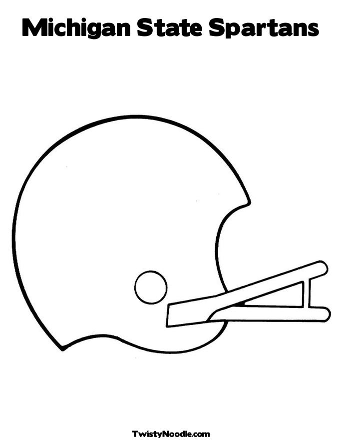 michigan state spartans coloring pages photo9