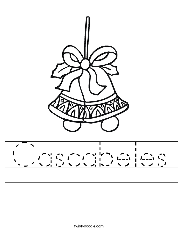 Cascabeles Worksheet