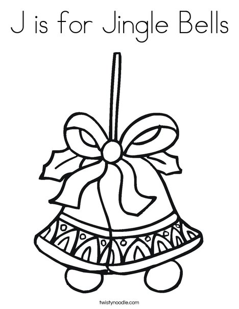 Coloring Page Twisty Noodle My Christmas List