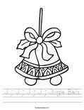 J j J j J j J j Jingle Bells Worksheet