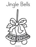 Jingle Bells Coloring Page