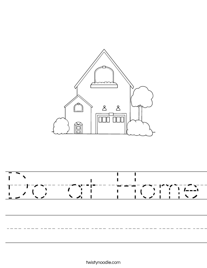 Do at Home Worksheet