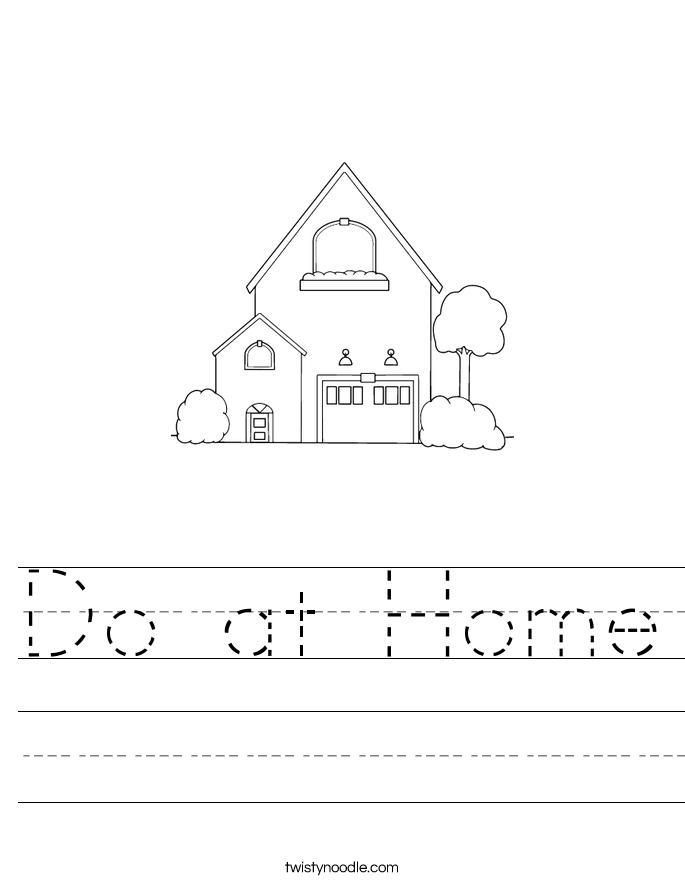 Do at Home Worksheet