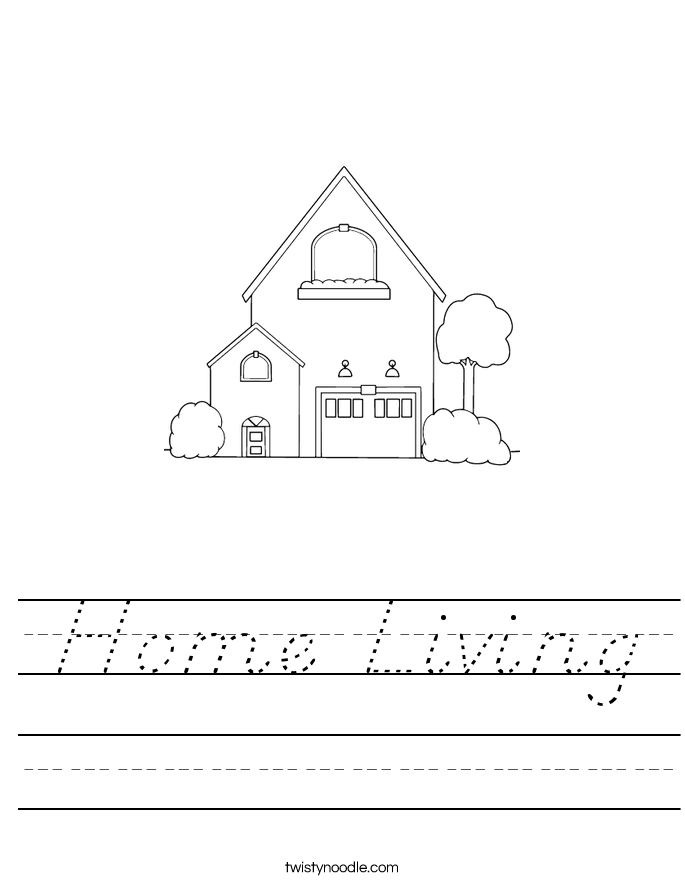 Home Living Worksheet