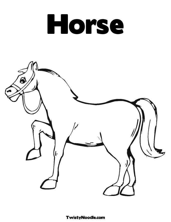 horse coloring pages image 3 dog breeds picture