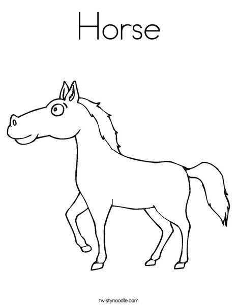 d is for donkey coloring pages - photo #2
