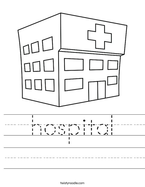 Hospital Worksheet