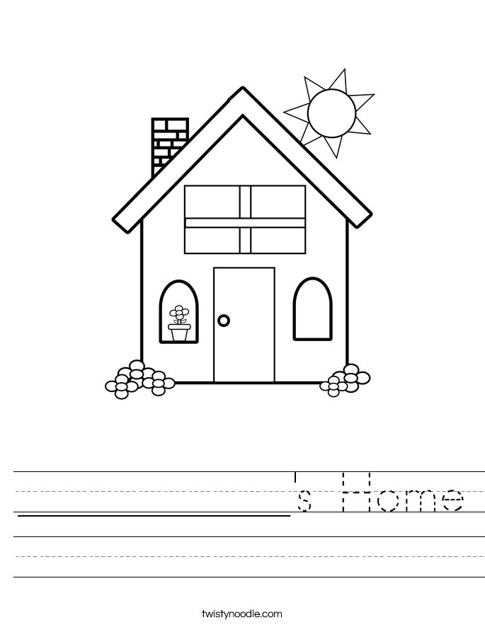 ___________'s Home Worksheet