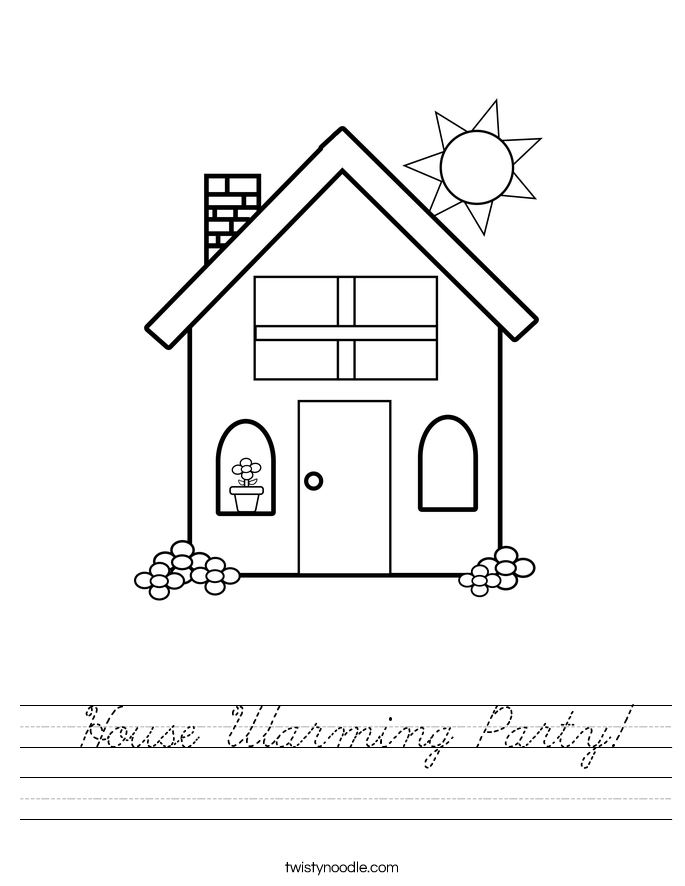 House Warming Party! Worksheet