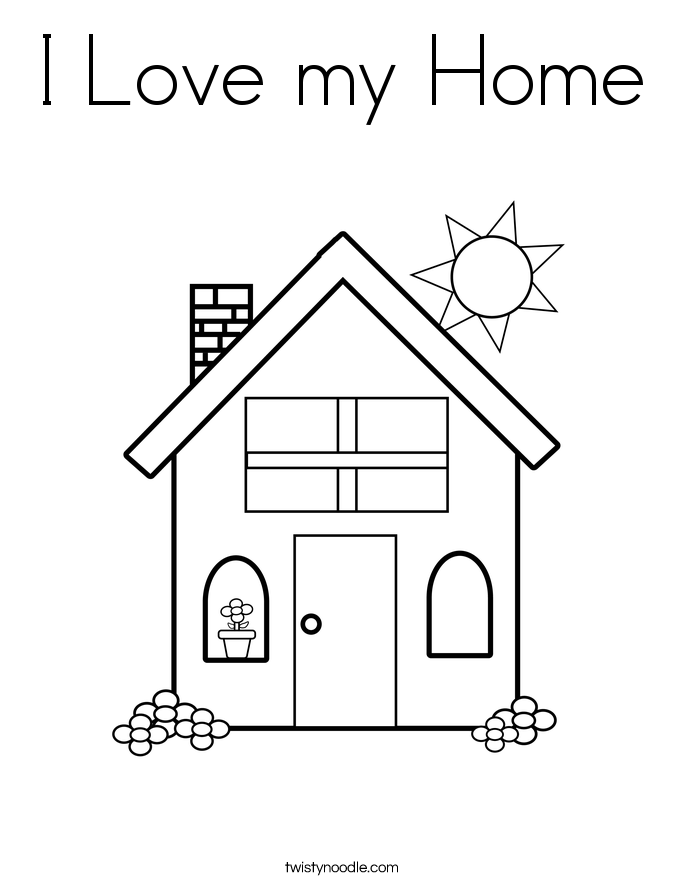 I Love My Family Coloring Pages Coloring Pages