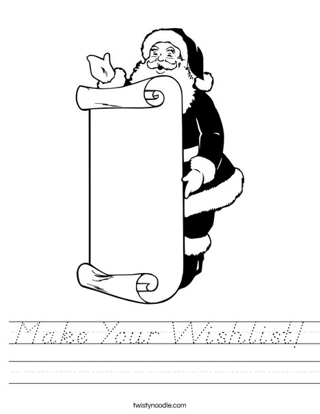How many Santas? Worksheet