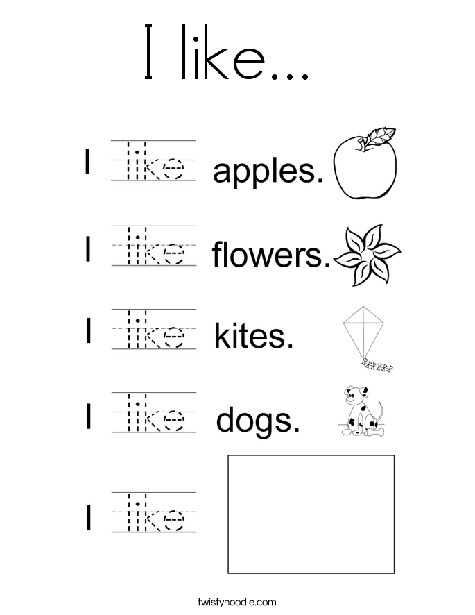 Like Sight Word Worksheet Free Worksheets Library | Download and ...