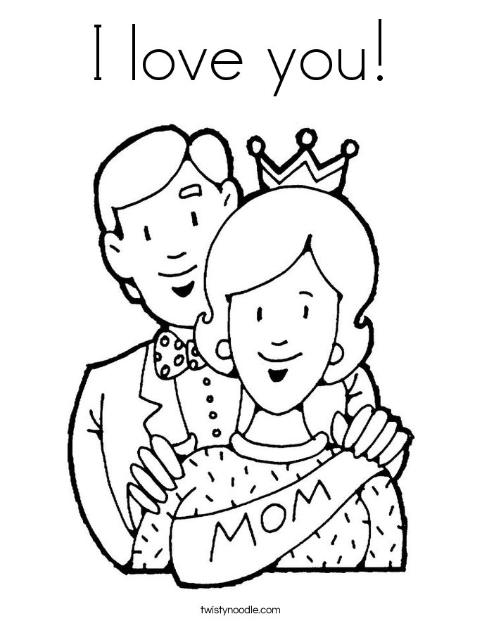 i love you nana coloring pages - photo #10