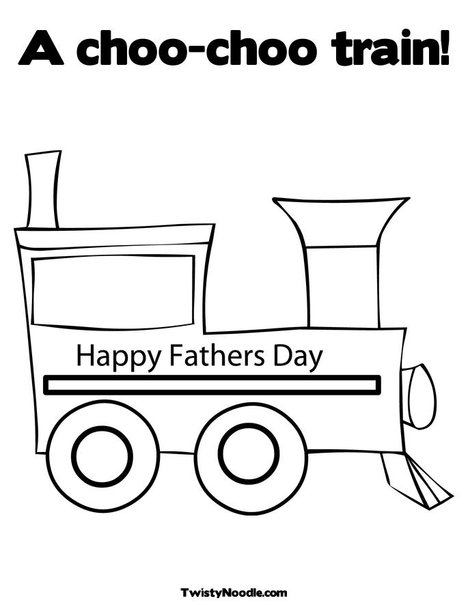 free coloring pages of train caboose