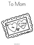 To MomColoring Page