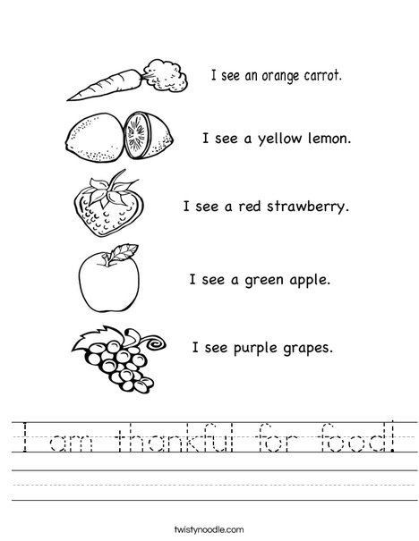 my childhood and my favorite fruits and vegetables