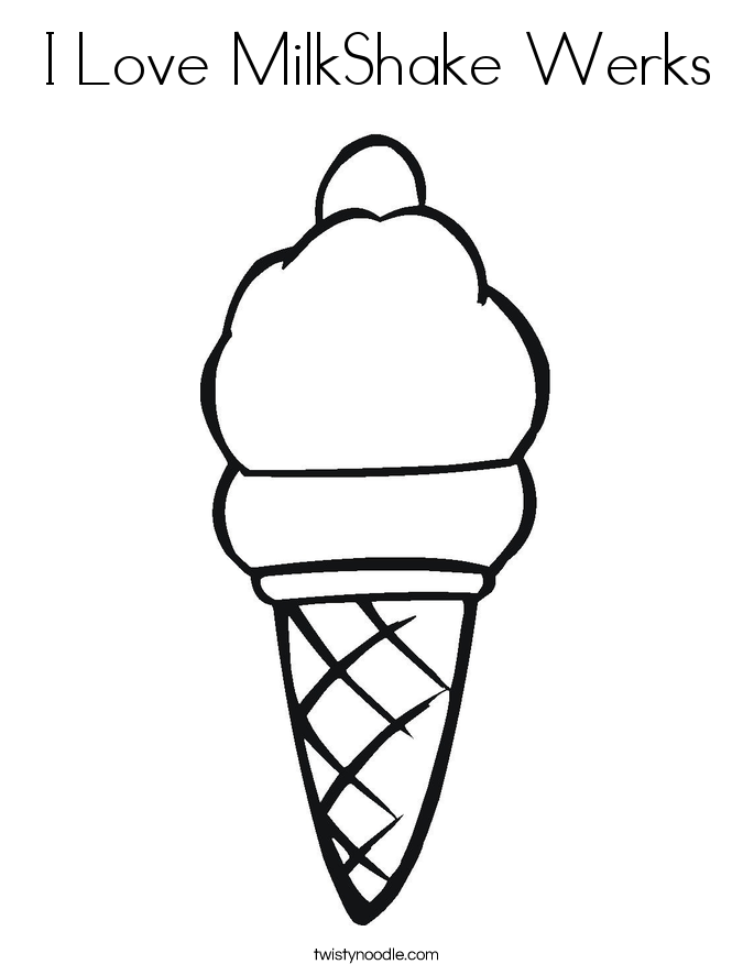 milkshake coloring pages | Coloring Pages