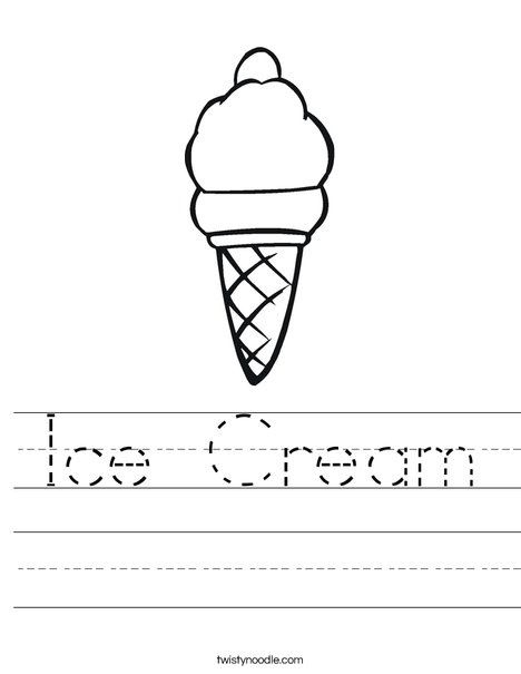 Dice Game: Ice Cream Colors! | Worksheet | Education.com