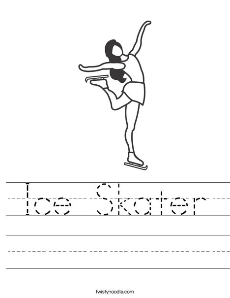 Ice Skater Worksheet