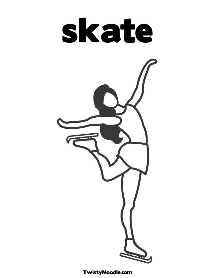 Inline Skate Coloring Page Coloring Pages Roller Skate Coloring Page